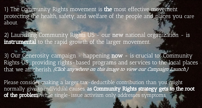 Community Rights Campaign